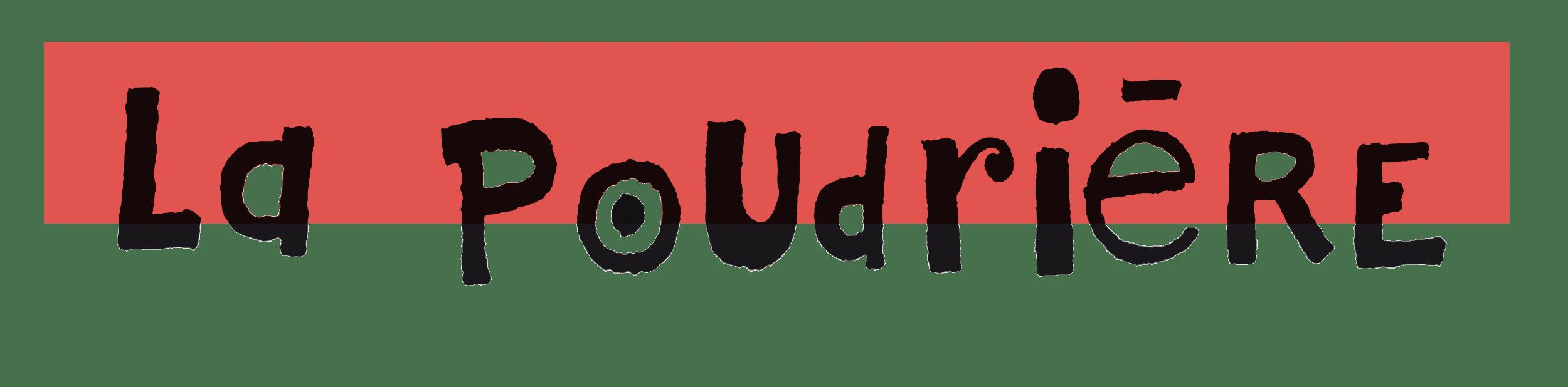 Logo Poudrière fond transparent