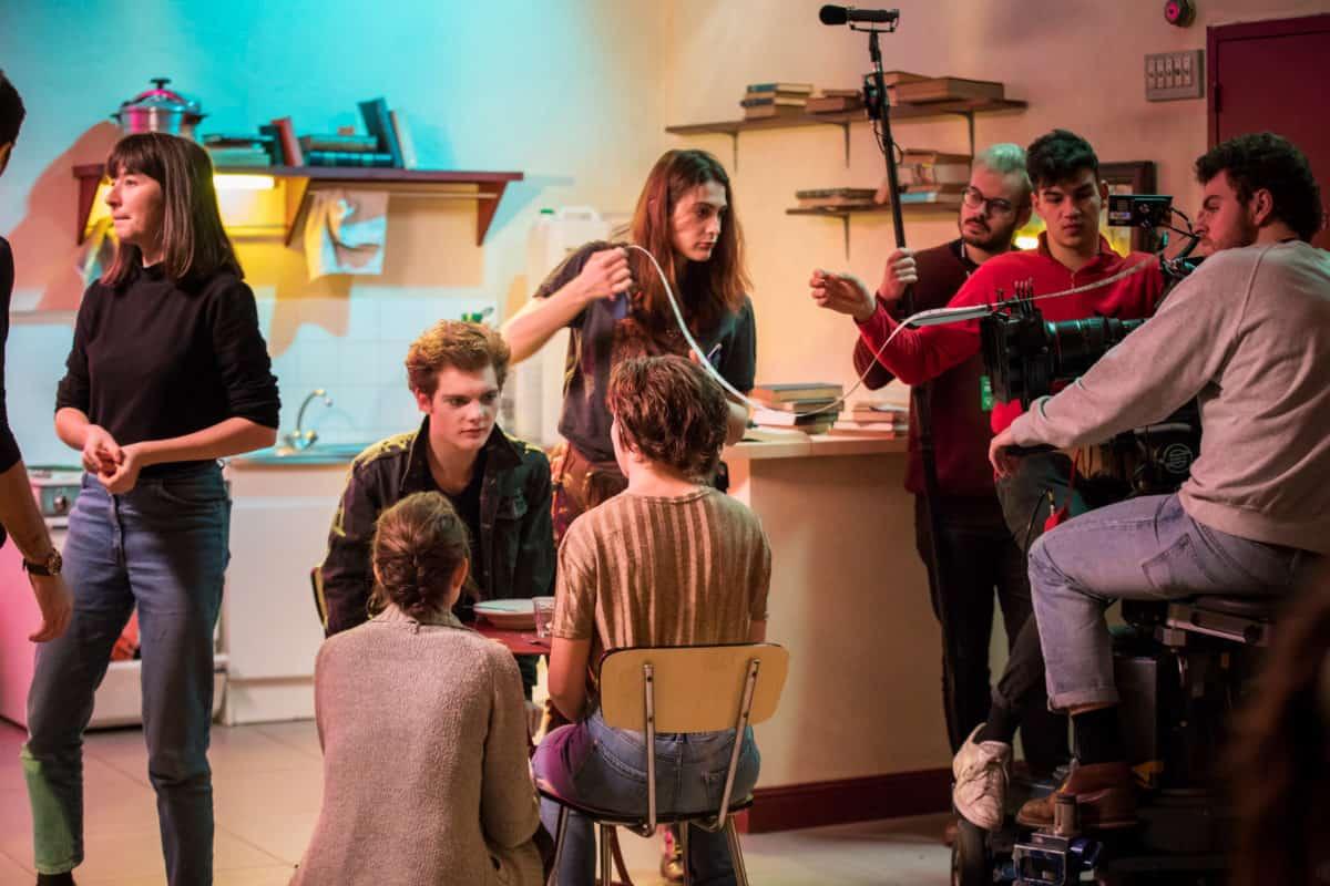 L'Atelier à l'ESC © Sauve qui peut le court métrage, Baptiste Chanat