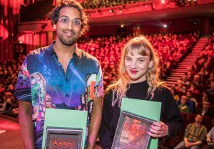 ©SQPCLM - Baptiste Chanat - Prix d'interprétation Lawrence Valin et Megan Northam BD
